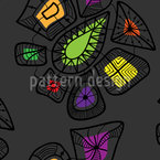 Gem Shop Seamless Vector Pattern Design