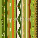 Listras na parede Design de padrão vetorial sem costura