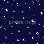Raindrops Seamless Vector Pattern Design