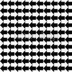 Zwei Pfeile Nahtloses Muster