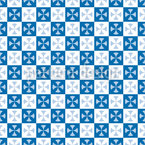 Cross Squares Vector Pattern