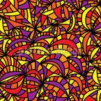Wenn Die Party Beginnt Muster Design