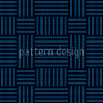 Woven Structure Seamless Vector Pattern Design