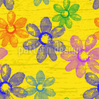 Flowers Of Spring Vector Ornament