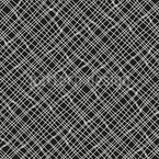 Woven Net Seamless Vector Pattern Design
