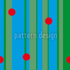 Dots On Stripes Seamless Vector Pattern Design