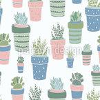 Succulent Pots Design Pattern