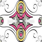 Stilblüten Nahtloses Vektormuster