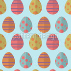 Colorful Easter Eggs Vector Design