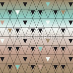 Unterschiedlich grosse Dreiecke Rapportmuster