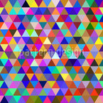 Abstrakte Geometrische Dreiecke Nahtloses Vektormuster