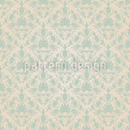 Stylish Damask Seamless Vector Pattern Design