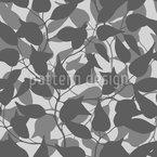 Hinter Den Blättern Nahtloses Vektormuster
