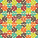The Wheels Are Turning Seamless Vector Pattern Design