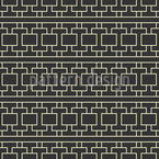 Traditional Lattice Seamless Vector Pattern Design