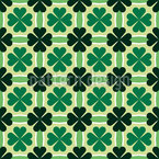 Shamrock and Stripes Pattern Design