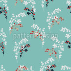 Berry Bouquets Seamless Vector Pattern Design