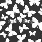 Butterflies As Far As The Eye Can Look Design Pattern