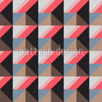 ピラミッドまたは四角形 シームレスなベクトルパターン設計
