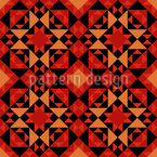 Kilim Tiles Seamless Vector Pattern Design