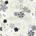 Paisley Field Seamless Vector Pattern Design