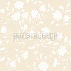 Romantische Vintage Blüten Nahtloses Vektormuster