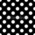 Big Polka Dots Seamless Vector Pattern Design