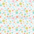 A Lot Of Dots Seamless Vector Pattern Design