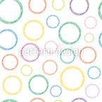 Große Und Kleine Kreise Nahtloses Vektormuster