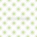 Grüne Pflanzen Rapportiertes Design
