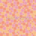 Sunny Mosaic Seamless Vector Pattern Design