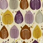 Trees In Autumn Design Pattern