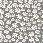 Daisy Field Seamless Vector Pattern Design