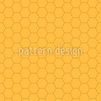 Honeycomb Everywhere Seamless Pattern