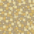 Mosaico brillante Estampado Vectorial Sin Costura
