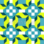Rhomb Square And Triangle Design Pattern