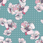 Fruit Bloom Repeat Pattern