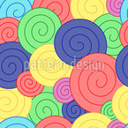Jelly Curls Pattern Design