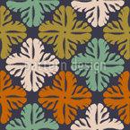 Flores Gouache Pattern Design