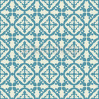 Moorish Tiles Vector Ornament