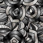 Abstrakte Vision Nahtloses Vektor Muster