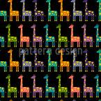 Giraffen Parade Vektor Design