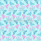 Spring Branches Seamless Vector Pattern Design