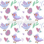 Love Tweets Pattern Design