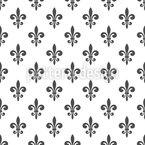 Fleur De Lis Seamless Vector Pattern Design