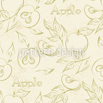 Italian Apples Pattern Design