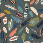 Leaf Me Seamless Vector Pattern Design