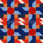 Retro Geometry Pattern Design