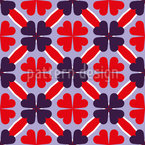 Shamrock To The Square Design Pattern