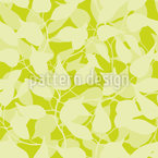 Inside A Jungle Of Leaves Pattern Design